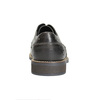 Casual textured leather shoes bata, gray , 826-2612 - 17