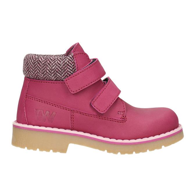 Children's pink winter boots weinbrenner-junior, pink , 226-5200 - 26