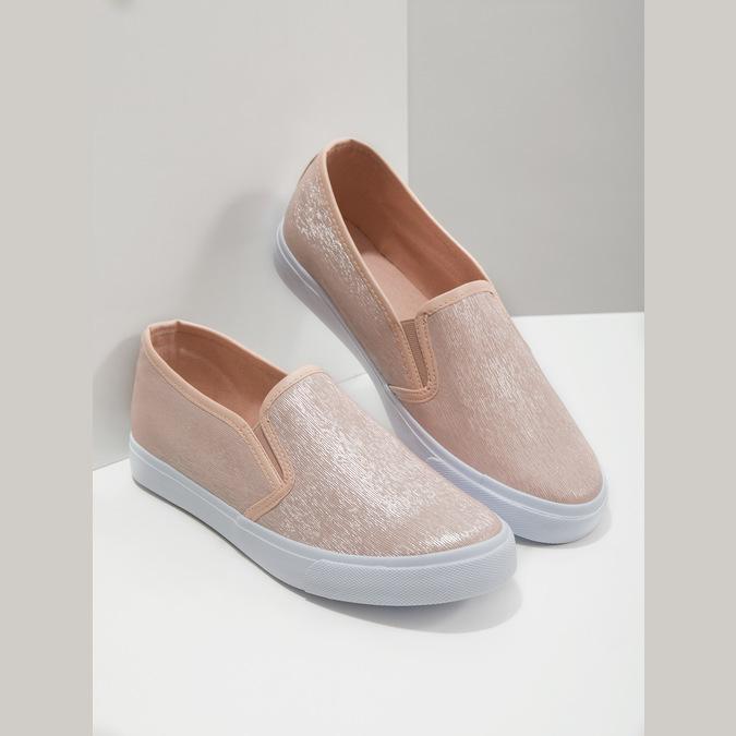Ladies' Pink Slip-Ons north-star, pink , 511-5605 - 19