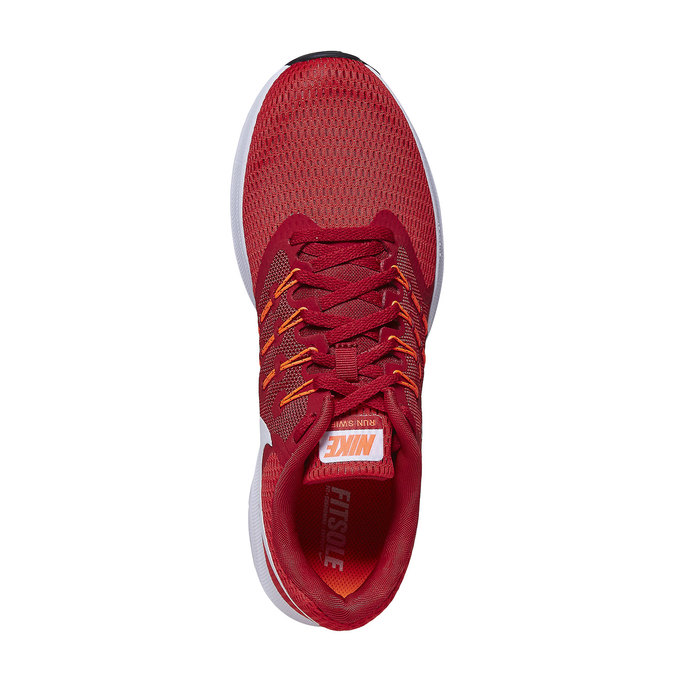 Men's red sneakers nike, red , 809-5120 - 19