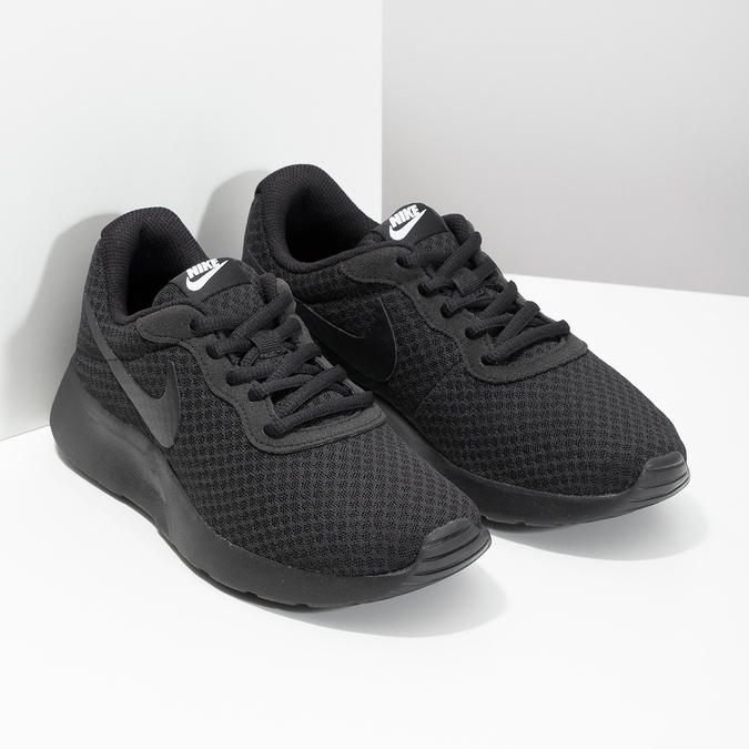 Ladies' black sneakers nike, black , 509-0157 - 26