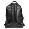 Backpack with zips bata, black , 961-6516 - 16