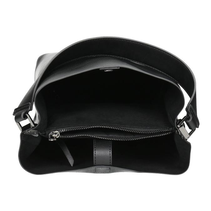 Black ladies Hobo handbag bata, black , 961-2173 - 15
