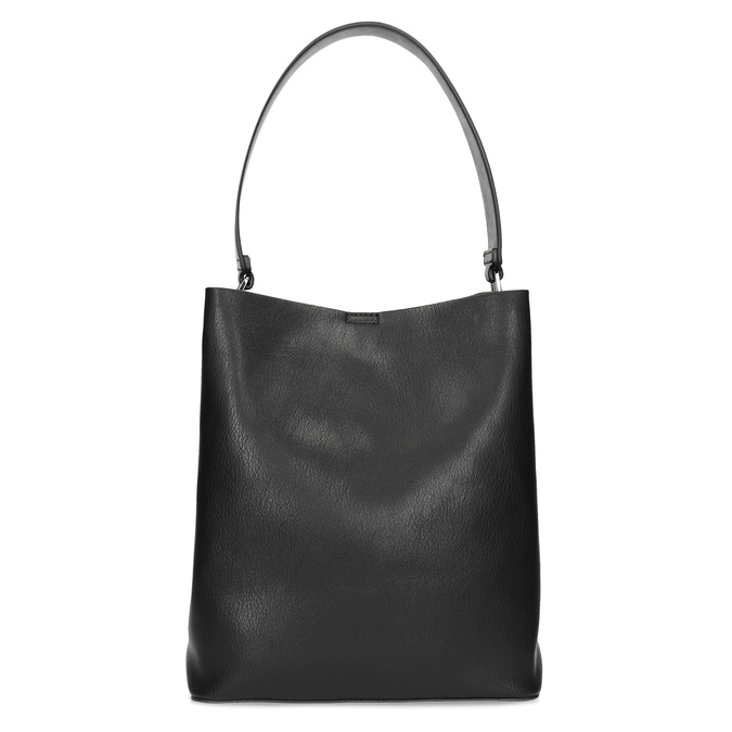 Black ladies Hobo handbag, black , 961-2173 - 26
