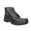 Men's Stockholm 2 KN S3 work shoes bata-industrials, black , 844-6645 - 13
