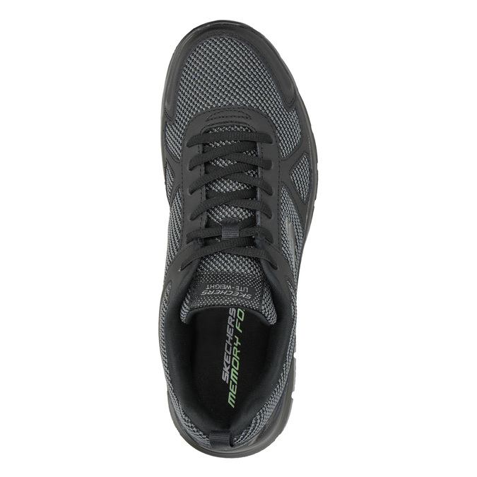 Men's Black Sneakers skechers, black , 809-6331 - 15