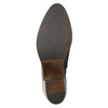 Ladies' leather high ankle boots bata, brown , 696-4653 - 17