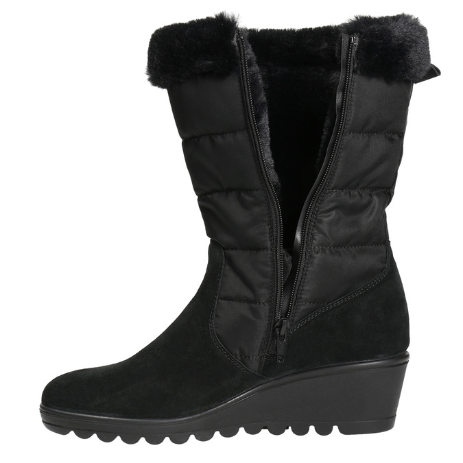 Ladies' Winter Boots comfit, black , 696-6624 - 26