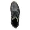 Men's Leather Ankle Boots bata, gray , 896-2669 - 15