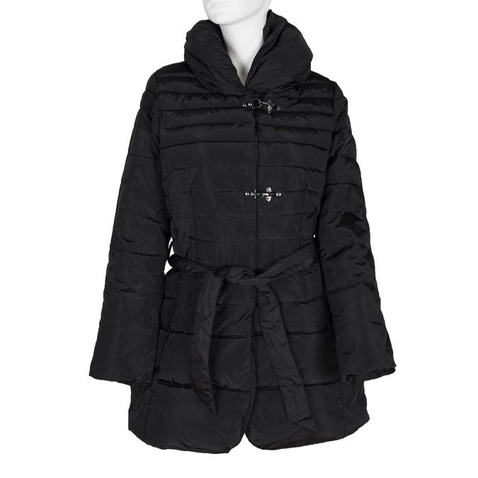 Ladies' quilted coat bata, black , 979-6164 - 13