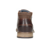 Men's leather ankle boots bata, brown , 826-3926 - 16