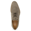 Men's Derby Shoes with Broguing bata, brown , 823-8616 - 17