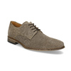 Men's Derby Shoes with Broguing bata, brown , 823-8616 - 13