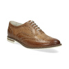 Ladies' leather shoes bata, brown , 526-3649 - 13