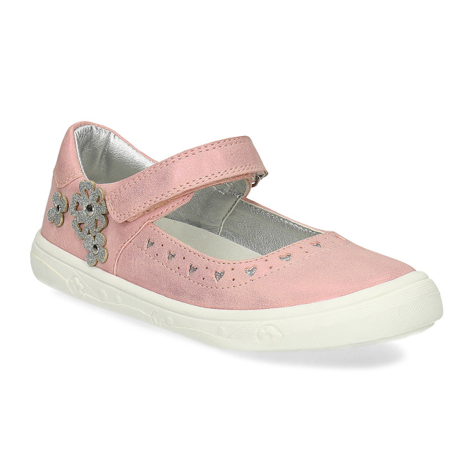 Girls' pink ballerinas mini-b, pink , 221-5216 - 13