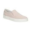 Ladies' leather Slip-on shoes bata, pink , 533-5600 - 13