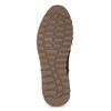 Leather Winter Sneakers bata, brown , 846-4646 - 18