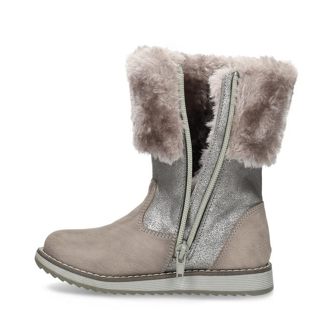 Children's Winter Boots bubblegummer, beige , 291-8624 - 17
