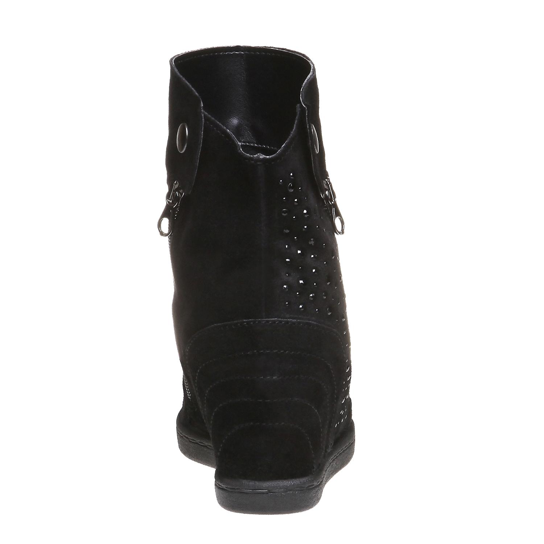 The Winnie Wedged Boot, black , 2018-793-6253 - 17
